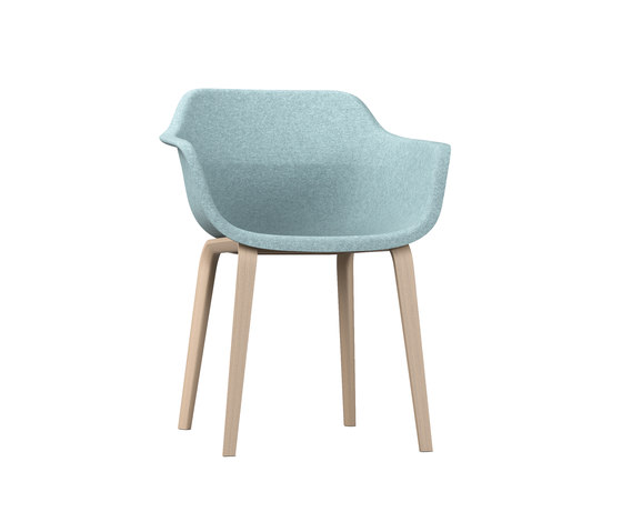 crona felt Armchair 6327/A by Brunner | Chairs