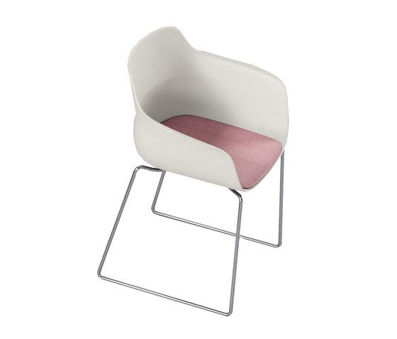crona light Chair 6315/A de Brunner | Sillas