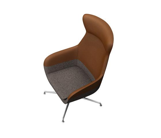 crona lounge Easy Chair 6381/AH de Brunner   Sillones