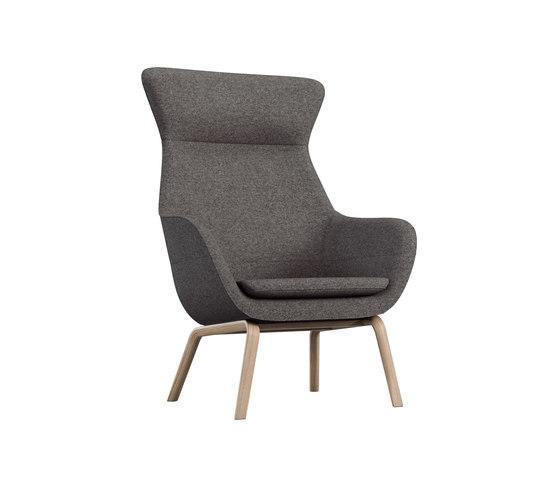 crona lounge Easy Chair 6387/AH de Brunner | Sillones