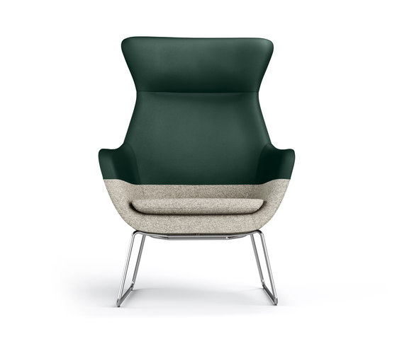 crona lounge Easy Chair 6385/AH de Brunner | Sillones