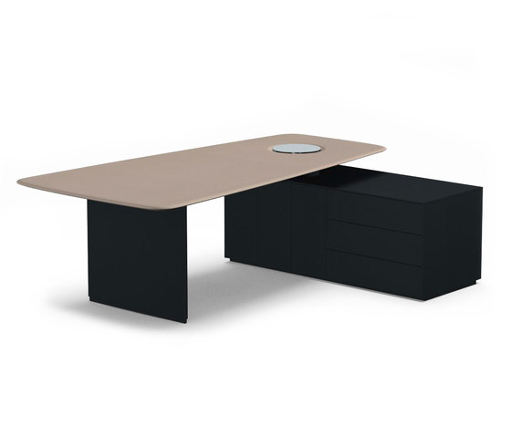 Keypiece Communication Desk by Walter K. | Contract tables
