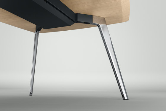 ray table 9312 de Brunner | Mesas contract