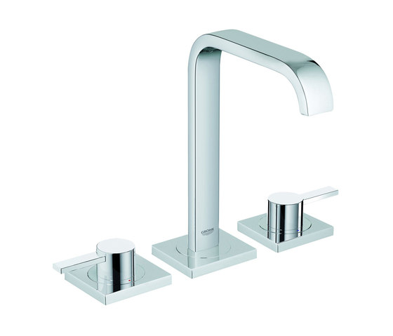 """Allure Three-hole basin mixer 1/2"""" M-Size by GROHE   Wash basin taps"""