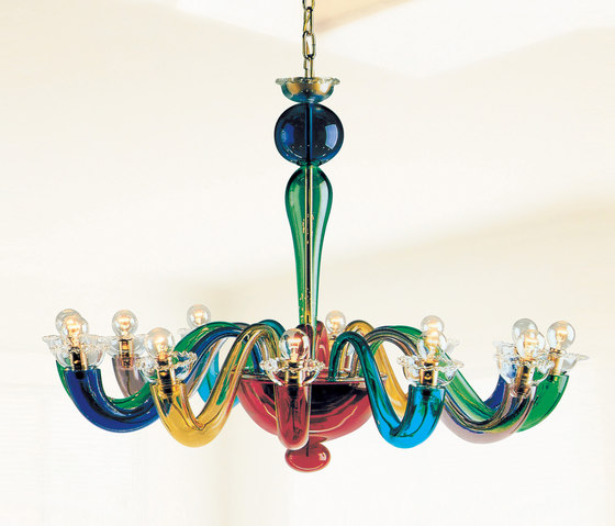 Serenissima L12 by Leucos | Chandeliers