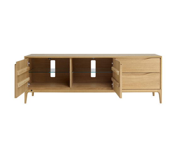 Romana | IR TV unit wide by ercol | Multimedia sideboards