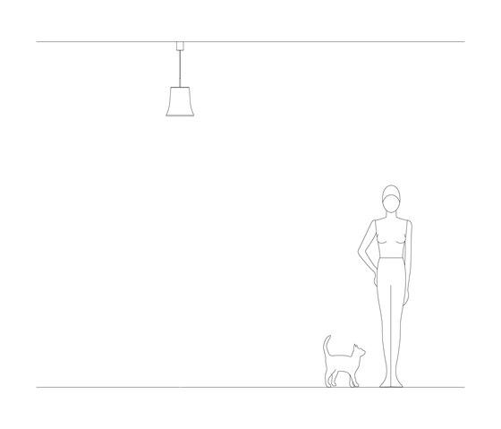 Cloche S de Leucos | Lámparas de suspensión