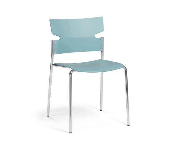 Stack+ chair de Materia | Sillas