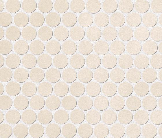 Color Now Beige Round Mosaico di Fap Ceramiche | Mosaici ceramica