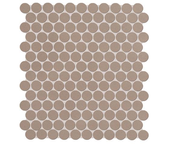 Color Now Fango Round Mosaico di Fap Ceramiche | Mosaici