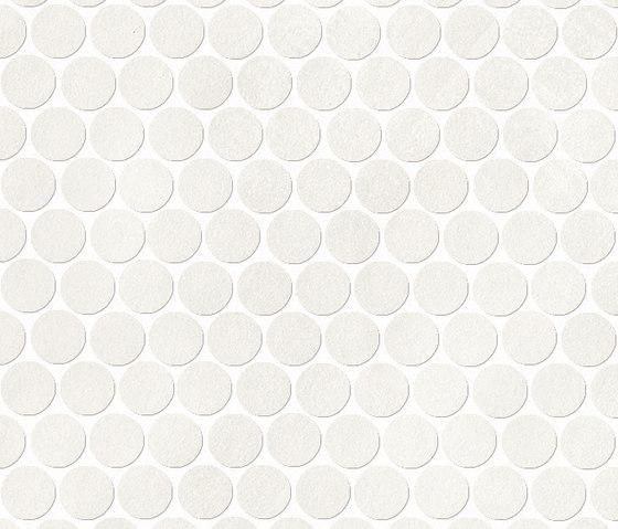 Color Now Ghiaccio Round Mosaico di Fap Ceramiche | Mosaici