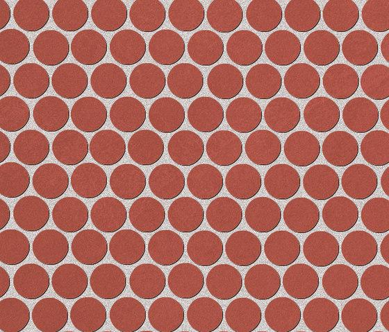 Color Now Marsala Round Mosaico de Fap Ceramiche | Mosaïques
