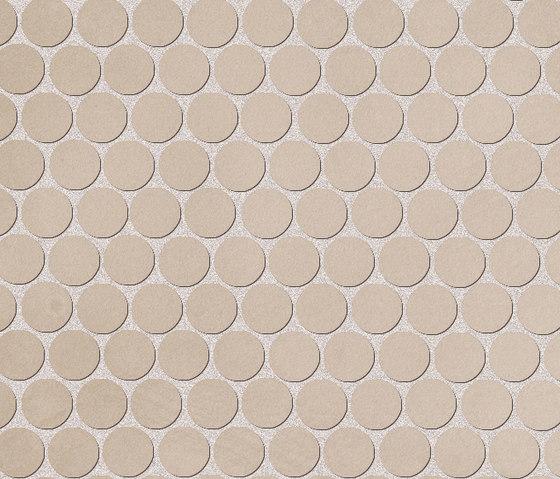 Color Now Tortora Round Mosaico di Fap Ceramiche | Mosaici ceramica