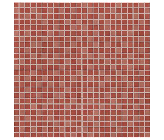 Color Now Marsala Micromosaico de Fap Ceramiche | Mosaicos de cerámica