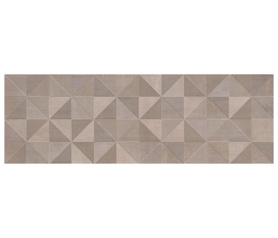 Color Now Tangram Fango Inserto de Fap Ceramiche   Carrelage céramique