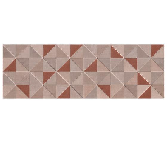 Color Now Tangram Rame Inserto von Fap Ceramiche | Keramik Fliesen