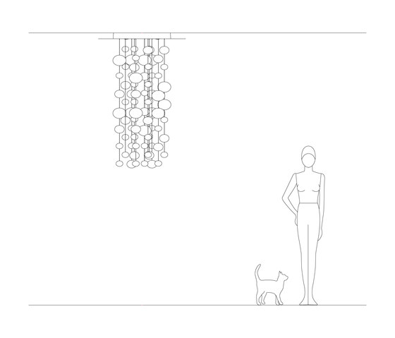 Ether 150 S di Leucos | Lampade sospensione