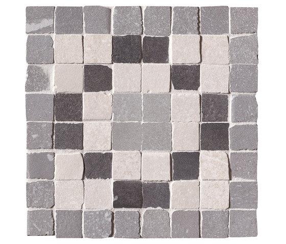Firenze Heritage Decò Grigio Angolo Fascia Mosaico by Fap Ceramiche | Ceramic mosaics