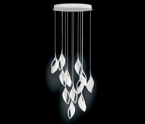 Nia 12 S LED di Leucos   Lampade sospensione