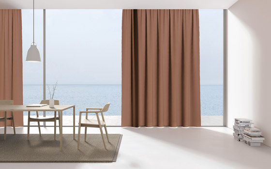 Crunch - 0016 by Kinnasand   Drapery fabrics