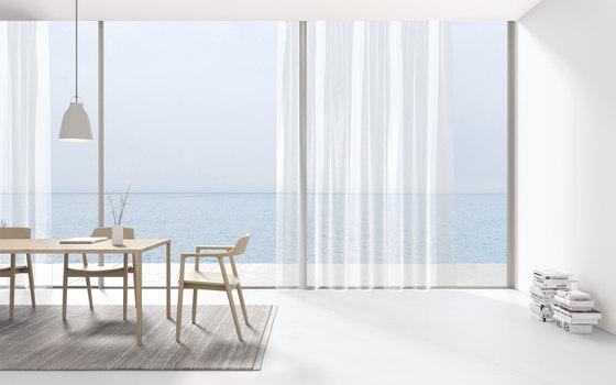 Fine Line - 0001 by Kinnasand | Drapery fabrics