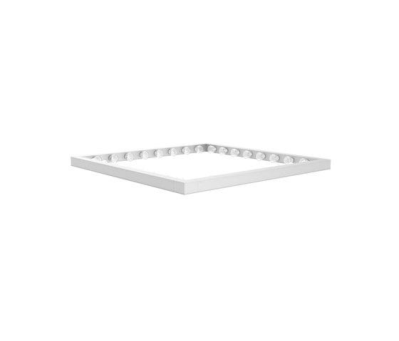 Framed by JSPR | Suspended lights