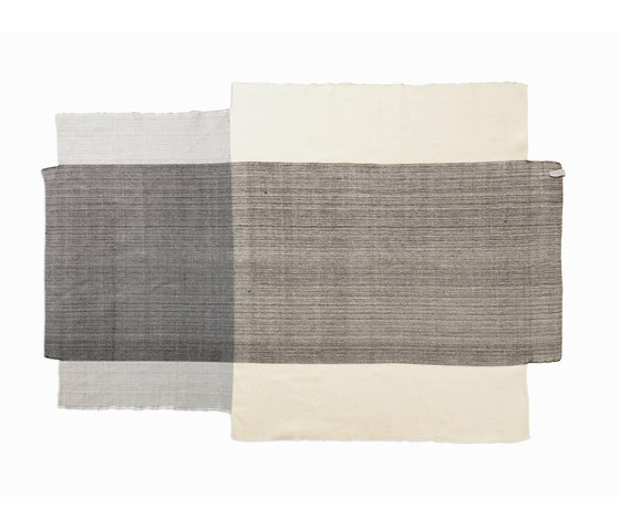 Nobsa | rug large, grey/grey/cream by Ames | Rugs / Designer rugs