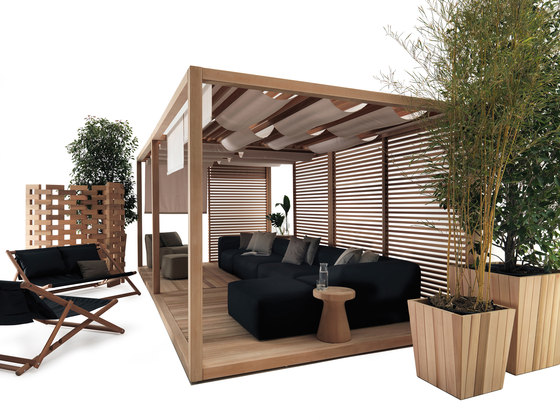 ZEN Light Double by Exteta | Gazebos
