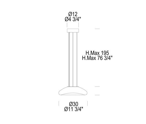 Keyra 30 S LED de Leucos | Lámparas de suspensión