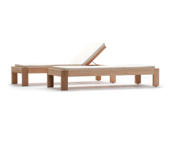 Zen Deckchair di Exteta | Lettini giardino