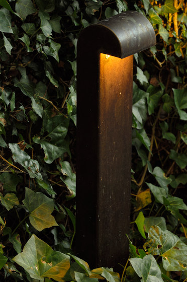 SIMPLY 70cm Brass LED de PVD Concept | Bornes lumineuses