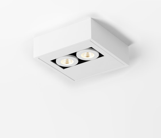 WHITE-LINE SMALL DUO AR70 LED by PVD Concept   Ceiling lights