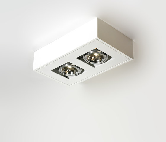 WHITE-LINE DUO AR111 by PVD Concept | Ceiling lights