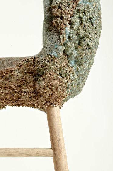 Well Proven Chair Green for Transnatural de Tuttobene | Sillas