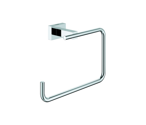 Essentials Cube Towel ring by GROHE | Towel rails