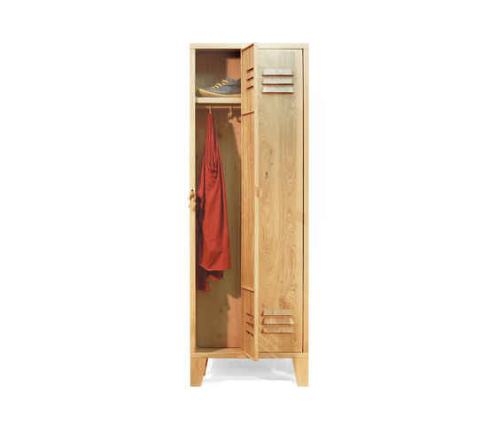 Locky 2 Solid Oak cabinet by Tuttobene | Cabinets