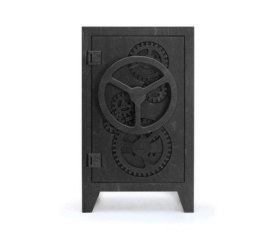Mr.Knox Safe cabinet Black di Tuttobene   Armadi