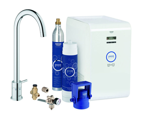 grohe blue mono starter kit kitchen taps from grohe architonic. Black Bedroom Furniture Sets. Home Design Ideas