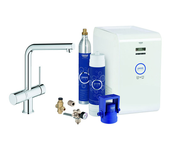 GROHE Blue® Minta Starter kit by GROHE | Kitchen taps