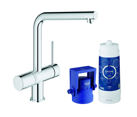 GROHE Blue® Minta Pure Starter kit by GROHE | Kitchen taps
