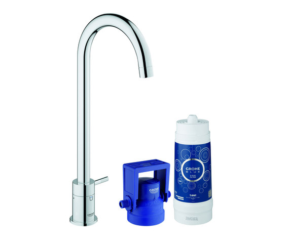 GROHE Blue® Mono Pure Starter kit by GROHE | Kitchen taps
