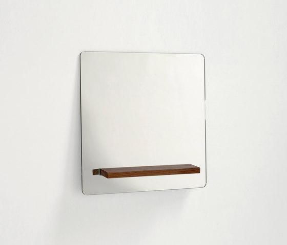 Lazy Mirror Chestnut 60 x 60 cm for New Duivendrecht von Tuttobene | Spiegel