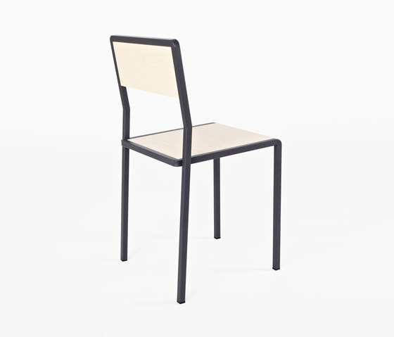 Knee Chair wood for New Duivendrecht by Tuttobene | Canteen chairs