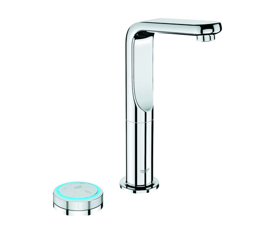Veris F-digital Digital basin mixer L-Size by GROHE | Wash basin taps