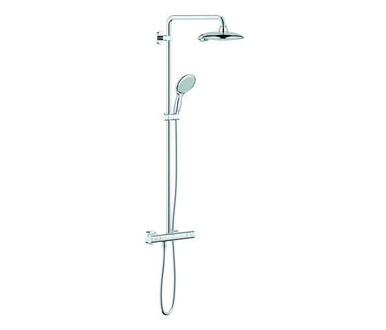 Euphoria Power&Soul System 190 Shower system with thermostat by GROHE   Shower controls