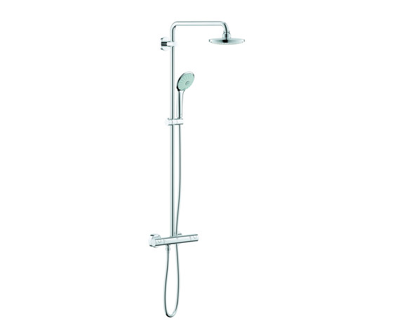Euphoria System 180 Shower system with thermostat by GROHE   Shower controls