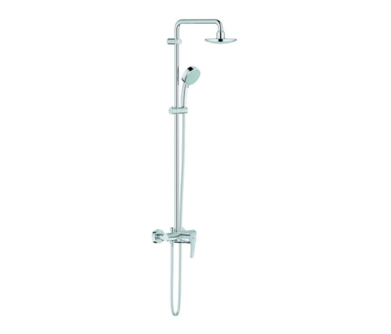 Tempesta Cosmopolitan System 160 Shower system with single lever mixer by GROHE   Shower controls