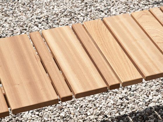 Paraggi bench by Exteta | Garden benches