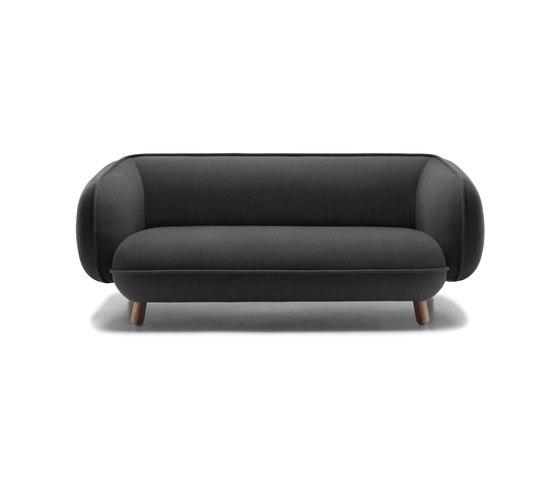 Basset 2,5 seater sofa de Versus | Canapés d'attente
