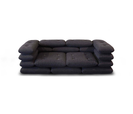 Brick 2 seater sofa by Versus | Lounge sofas